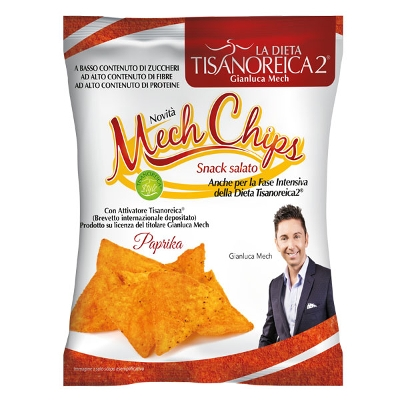 Tisanoreica Chips Paprika Mech 25g